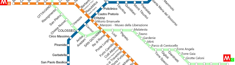 Kaarten van Rome