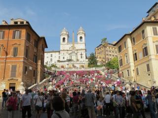 Spaanse Trappen Bezienswaardigheden Rome