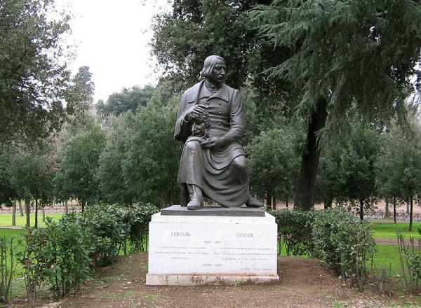 Villa Borghese Rome Nikolay Gogol