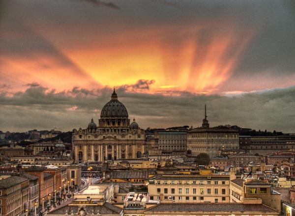 Het weer in Rome